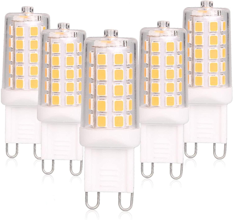 soft-LED G9 Leuchtmittel 4W ersetzt 40 Watt klar 110-265V warmweiß LED-Lampe