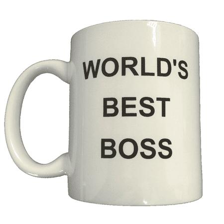 World's Best Boss Coffee Mug Michael Scott The Office TV Steve Carell Gift