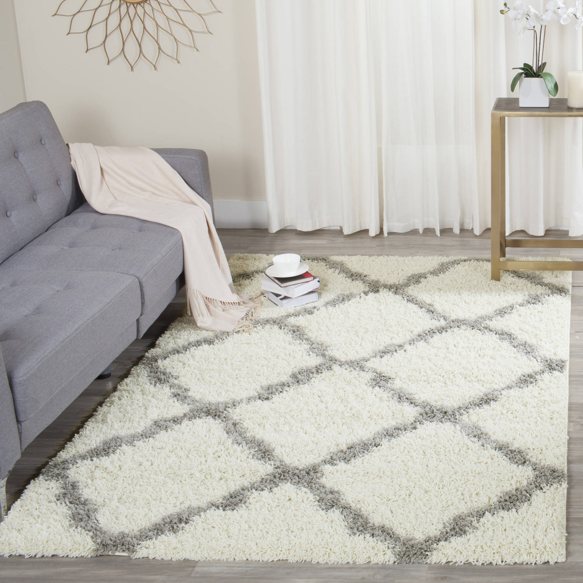 Safavieh Daley Power-Loomed Shag Area Rug