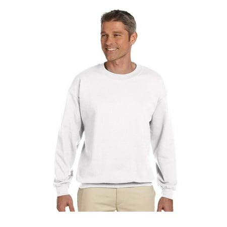 Jerzees Mens 1X1 Rib Cuffs Crewneck Sweatshirt  Style 4662M