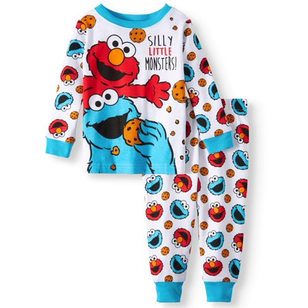 Sesame Street Cotton Tight Fit Pajamas, 2-piece Set (Baby Boys) for $<!---->