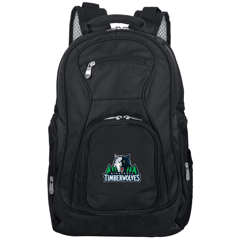 "Minnesota Timberwolves 19"" Laptop Travel Backpack - Black - No Size"