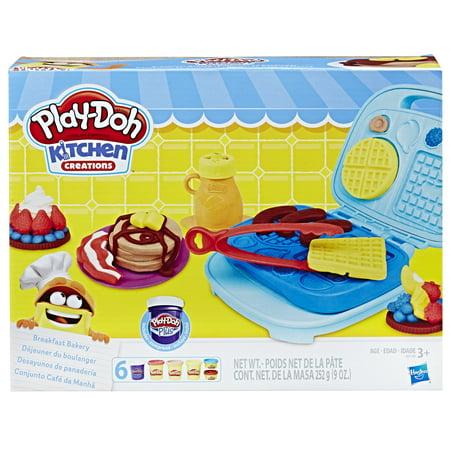 Play Doh Minecraft (Play-Doh Kitchen Creations Breakfast Bakery Food Set with 6 Cans of)