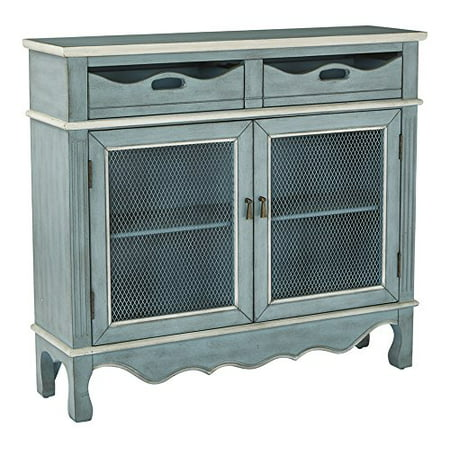 Hand Painted Console Cabinet (Mansfield Storage Console )