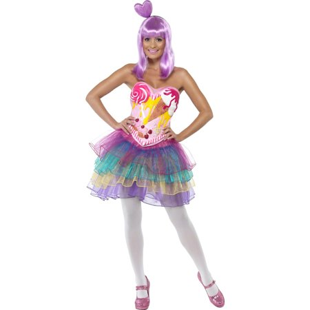 Adult Candy Queen Costume Smiffys - Adult Candy Costume