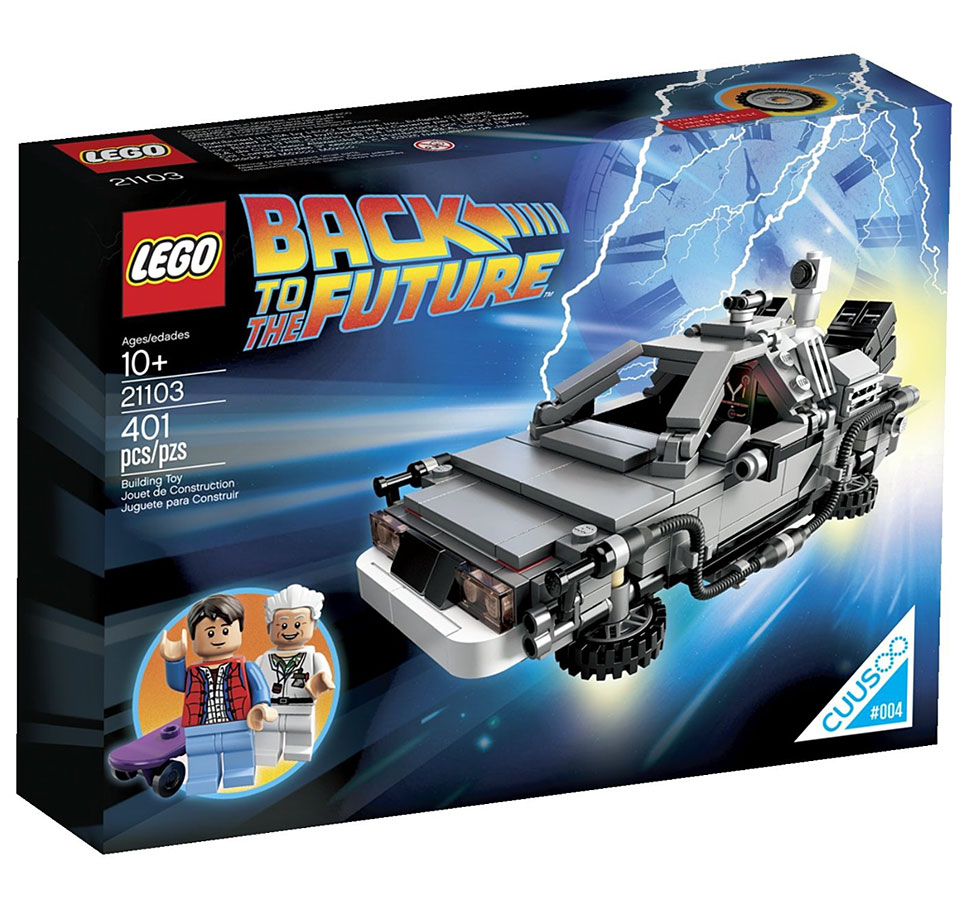 LEGO Cuusoo The DeLorean Time Machine Play Set
