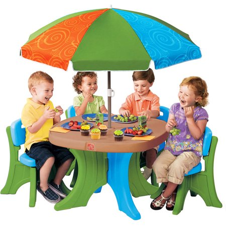 Step2 Deluxe Play Shade Kids Patio Set