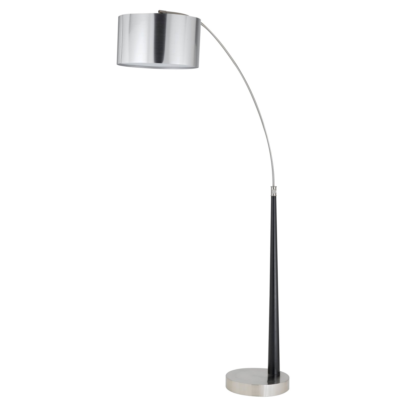 Cal Lighting BO-2029 Metal Arc Floor Lamp with Vacuum Plated PVC Shade by CAL Lighting