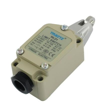 Unique Bargains WLD1 Cross Roller Plunger Actuator  DC Circuit Enclosed Limit Switch