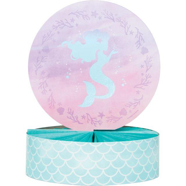 Creative Converting Iridescent Mermaid Party Centerpiece