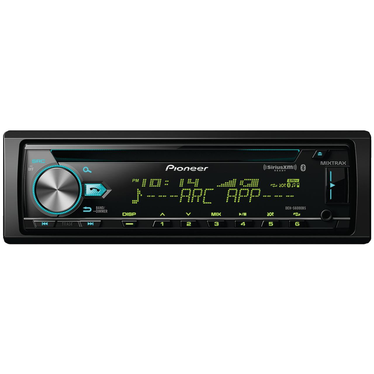 Pioneer DEH-S6000BS Single-DIN In-dash CDReceiver With Bluetooth & SiriusXM Ready by Pioneer