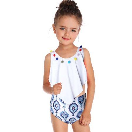 3102253b9ccda Sexy Dance - Mother Daughter Family Matching Swimwear Swimsuit Bathing Suit  Beachwear High Waist Bikini Women Girls Baby Kids Summer - Walmart.com