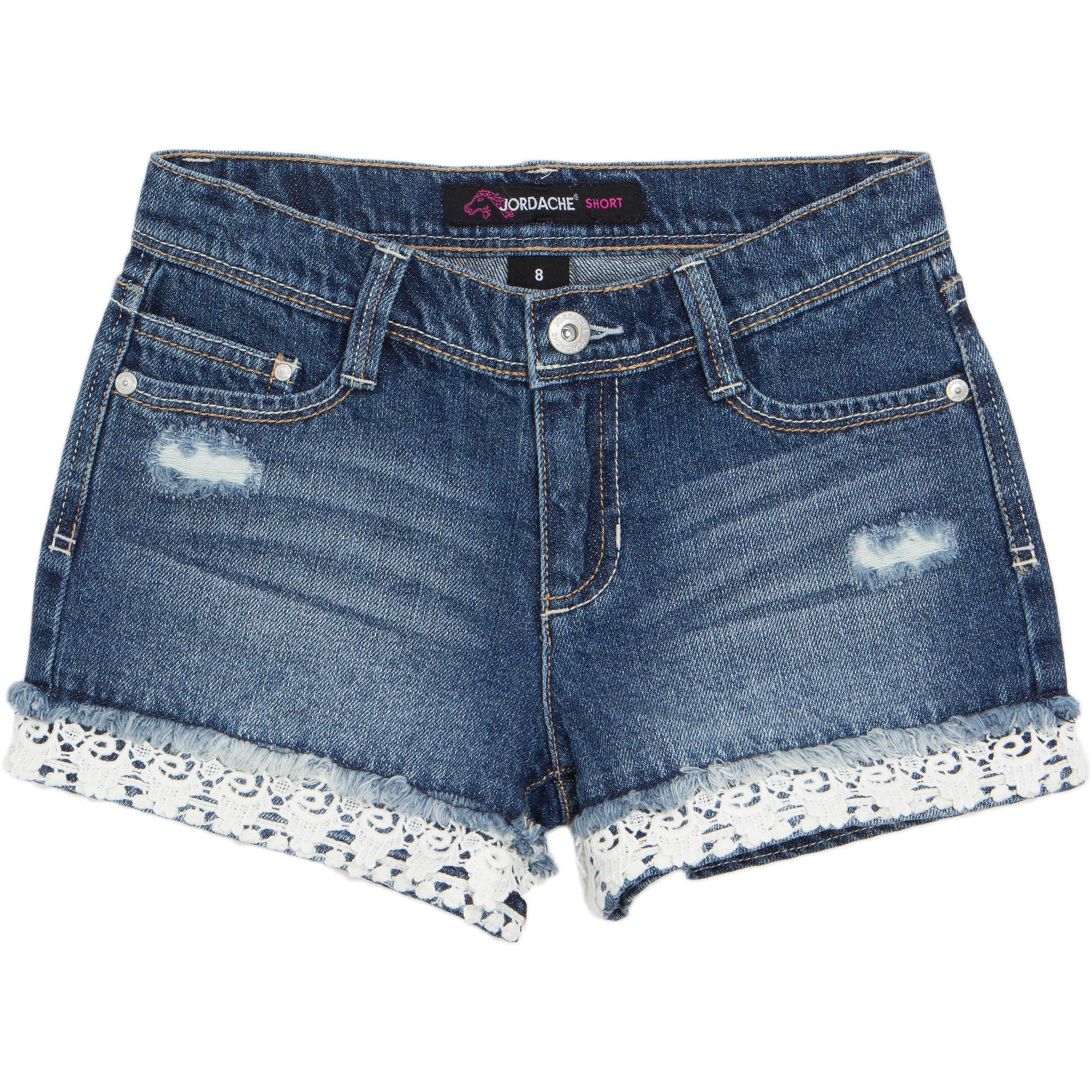Jordache Girls' Denim Shorts