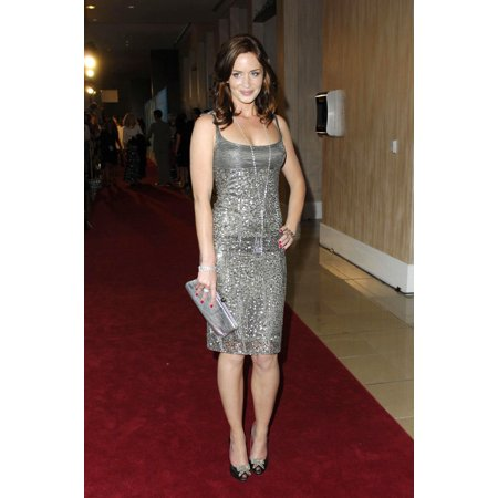 Emily Blunt At Arrivals For Women In Film Presents The Best Of The Best 2007 Crystal Lucy Awards Beverly Hilton Hotel Los Angeles Ca June 14 2007 Photo By Michael GermanaEverett Collection Celebrity