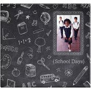 "Chalkboard Post Bound Scrapbook with Window, 12"" x 12"""