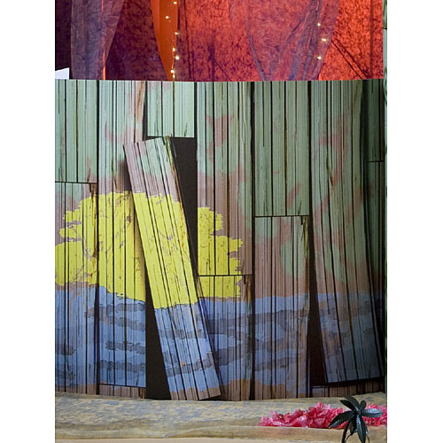 3 ft. Beach Shack Walls