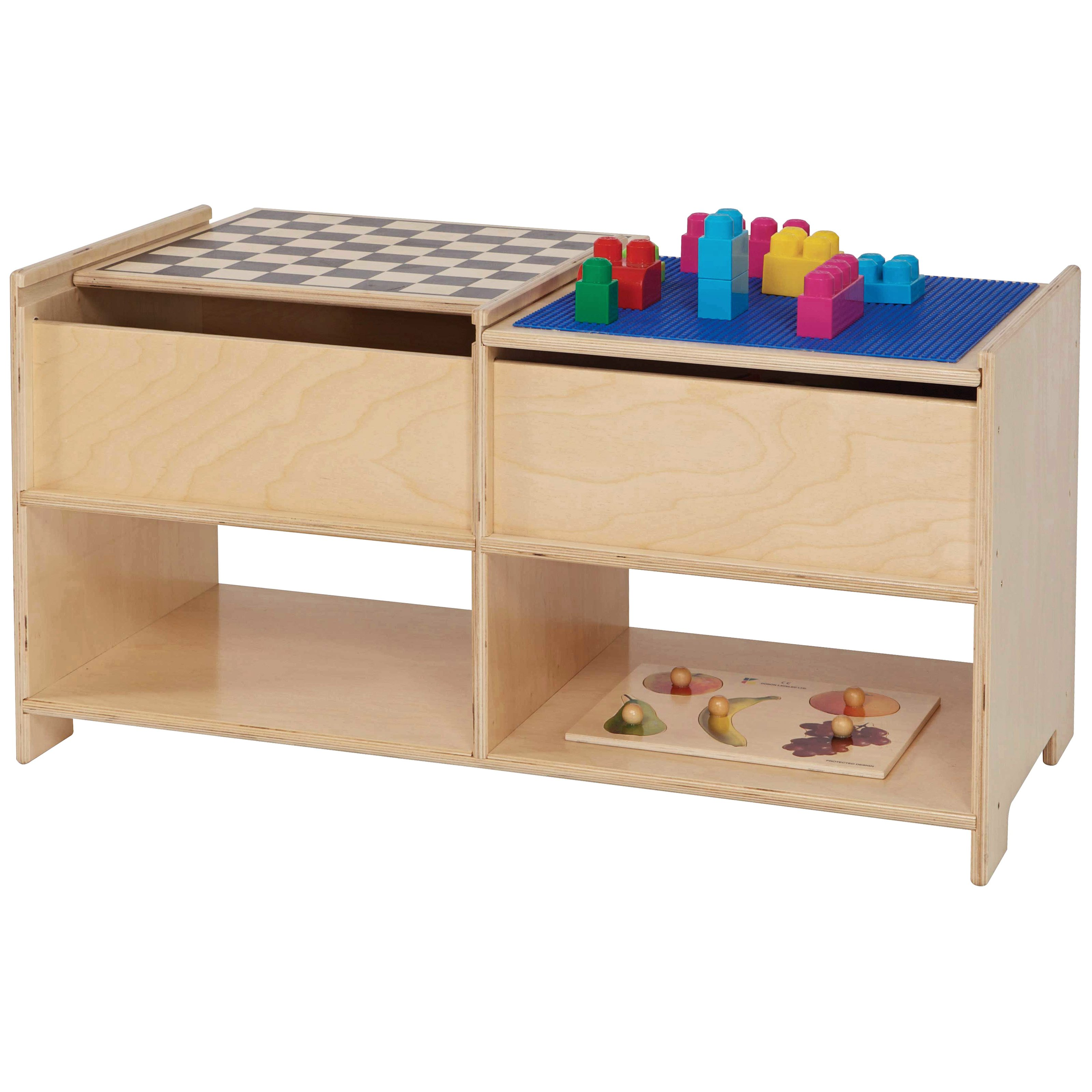 Wood Designs Build N Play Table