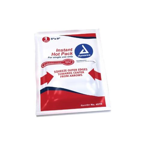 Dyanarex Instant Hot Packs, 5 X 9 Inches - 24 Pcs