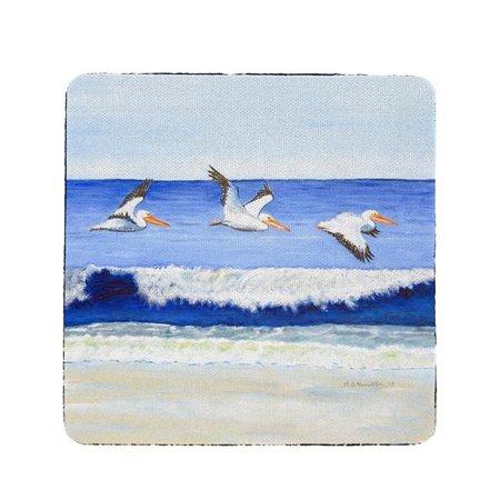 Betsy Drake CT1076 Skimming the Surf Coaster - Set of 4 - image 1 of 1