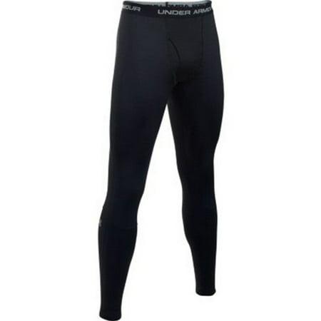 under armour men's base 4.0 leggings, black/steel, xxx-large Under Armour Mens Coldgear Leggings