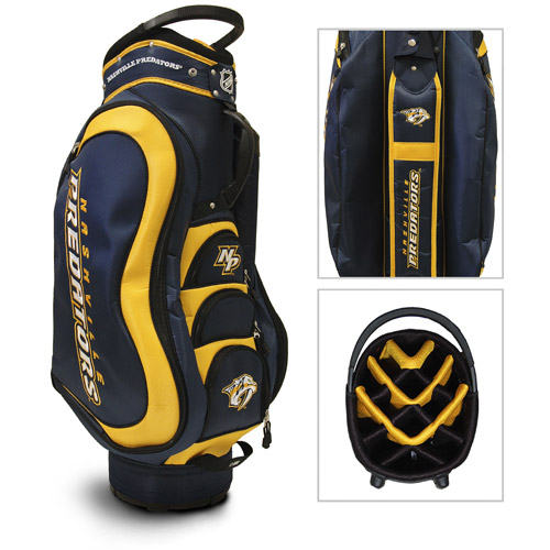 Team Golf NHL Nashville Predators Medalist Golf Cart Bag