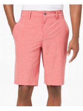 Mens Regular-Fit Flat-Front Casual Shorts 36