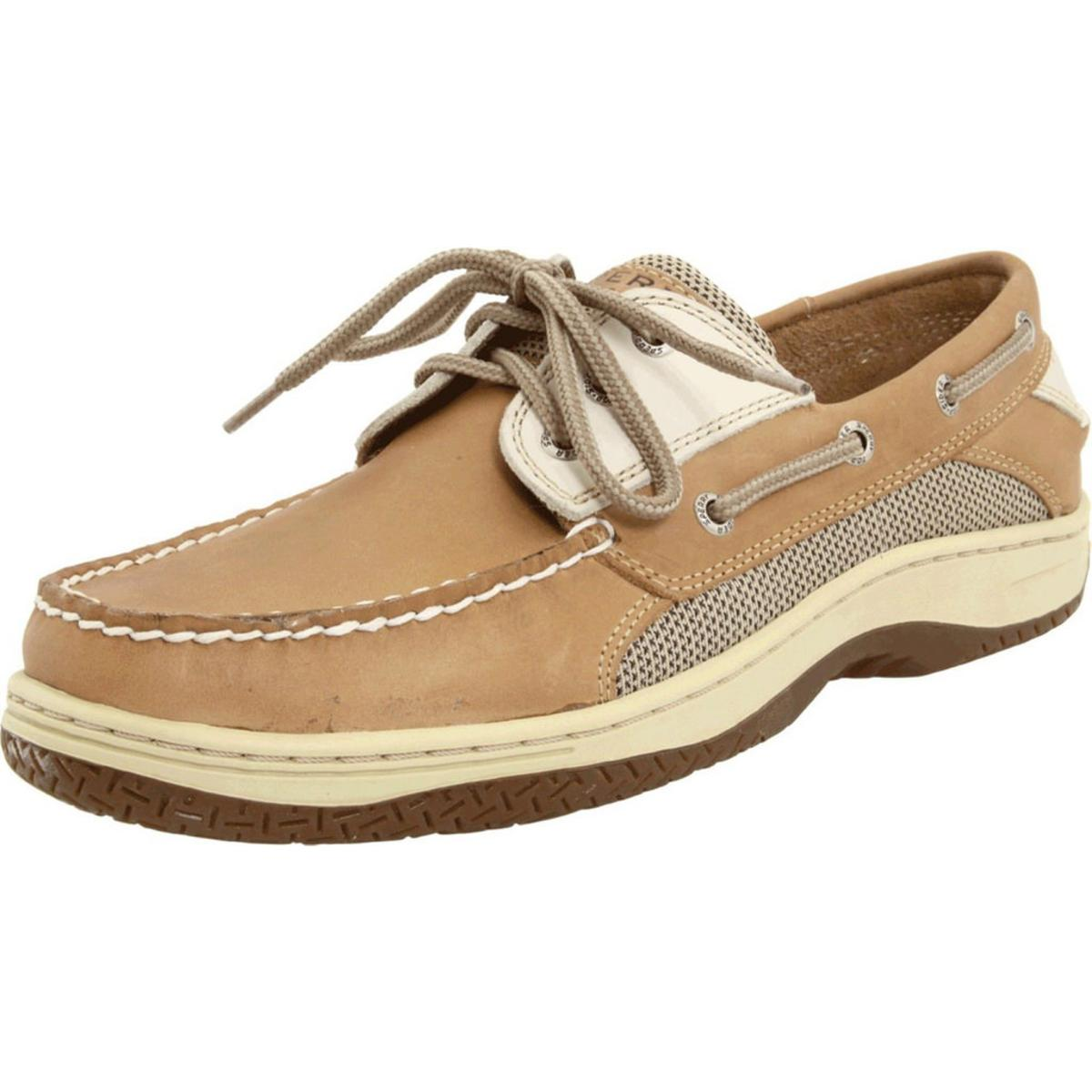Sperry Top-Sider Billfish 3 eye Mens Tan/beige Loafers