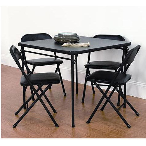 Mainstays 5 Pc Card Table Set Walmart Com