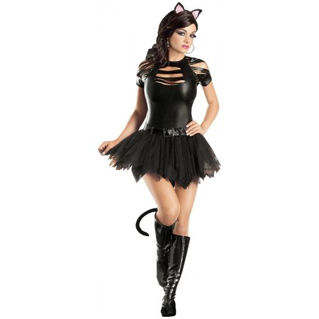 23a018ee2b2 Mean Kitty Adult Costume - Plus Size 1X/2X