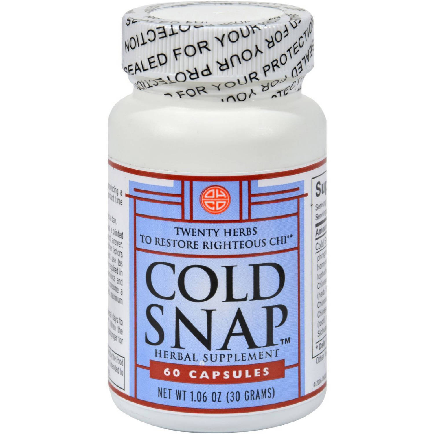 Ohco Cold Snap, 60 CT