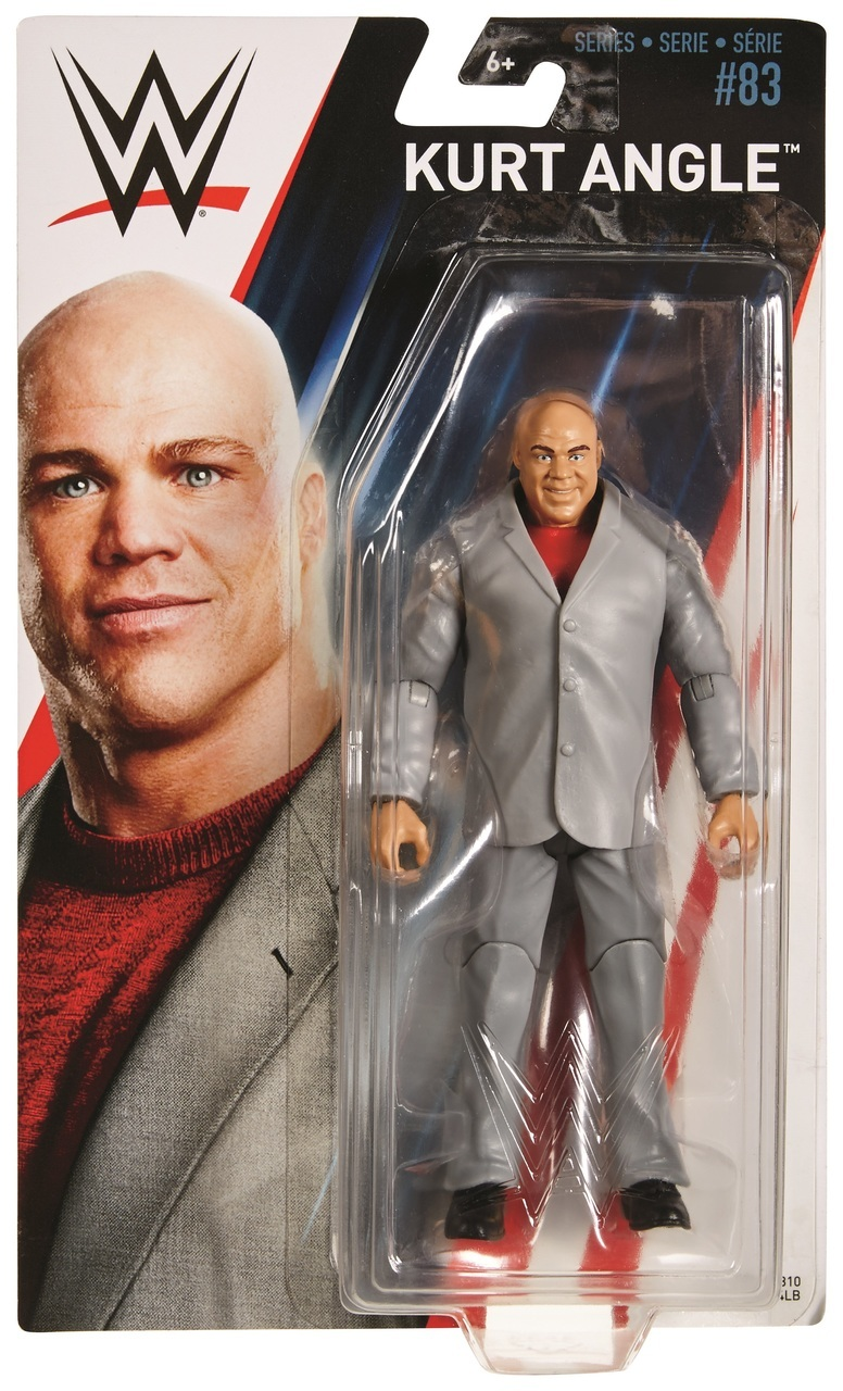 Action Figures WWE Elite Flashback Kurt Angle