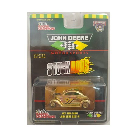 Coupe Stock - Rare John Deere Motorsports Stock Rods Limited Edition 1937 Ford Coupe Issue #1 Gold Paint