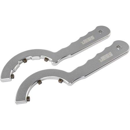 JEGS 81802 Universal Billet Spanner Wrench Set