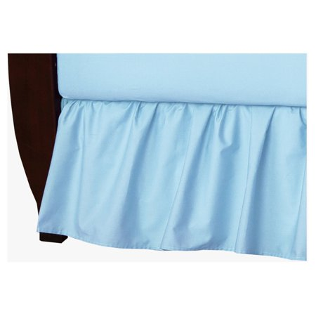 (Percale Crib Bed Skirt by American Baby Company)