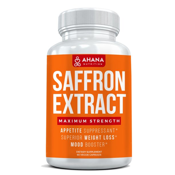 Saffron Extract Capsules Vegetarian Weight Loss Saffron