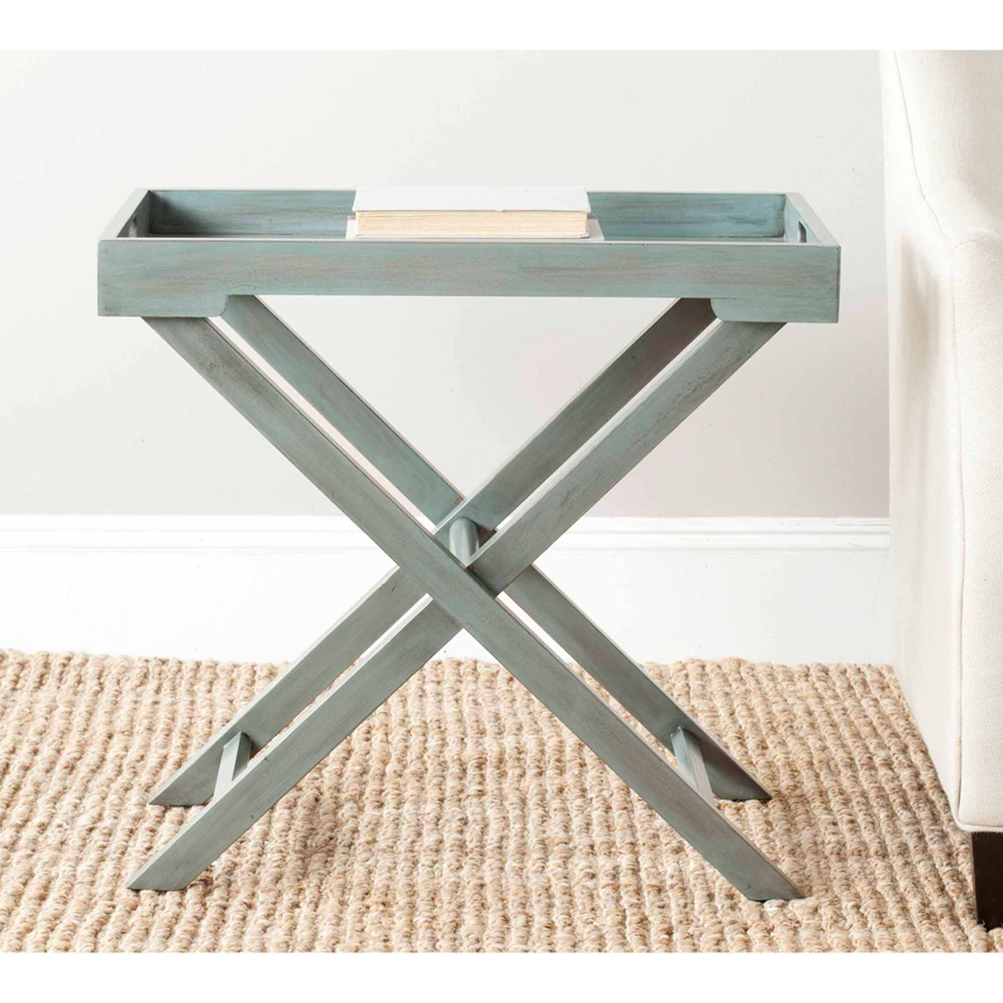 Safavieh Leo Accent Table, Multiple Colors