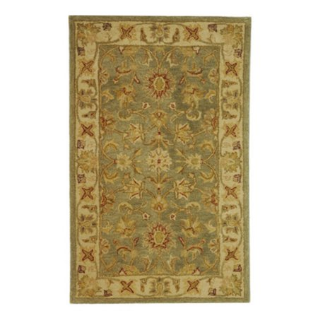 Safavieh Antiquity Rita Hand-Tufted Wool Area Rug, Green/Gold