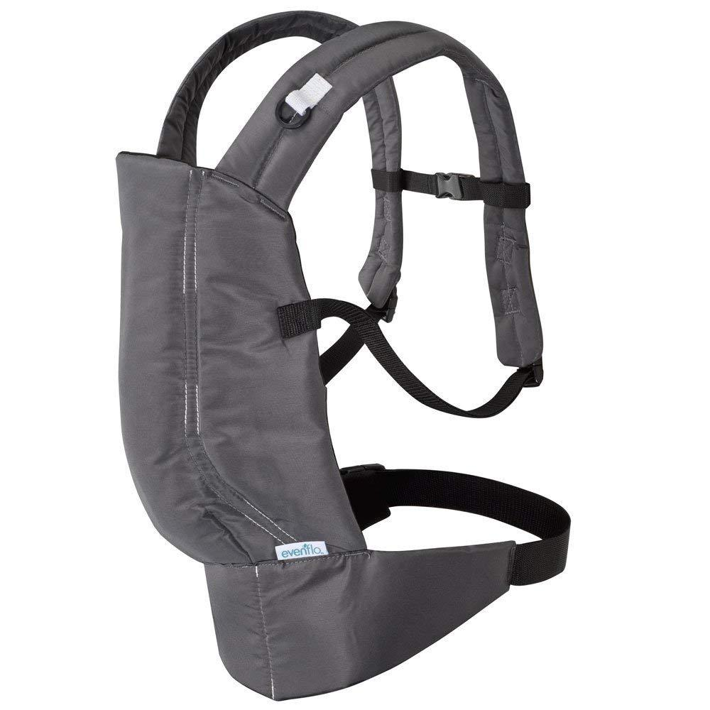 Natural Fit Soft Carrier, Boulder, Hands free portability while bonding with baby By Evenflo