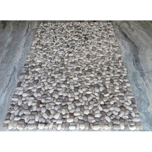 Modern Rugs Pebbles Gray Area Rug