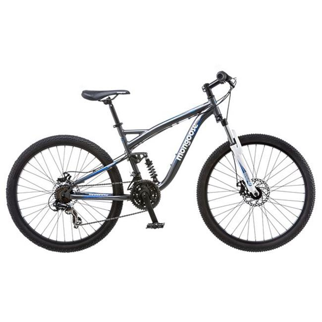 Mongoose Bicycles R5208A 26 inch Mens Full Suspension Bicycle