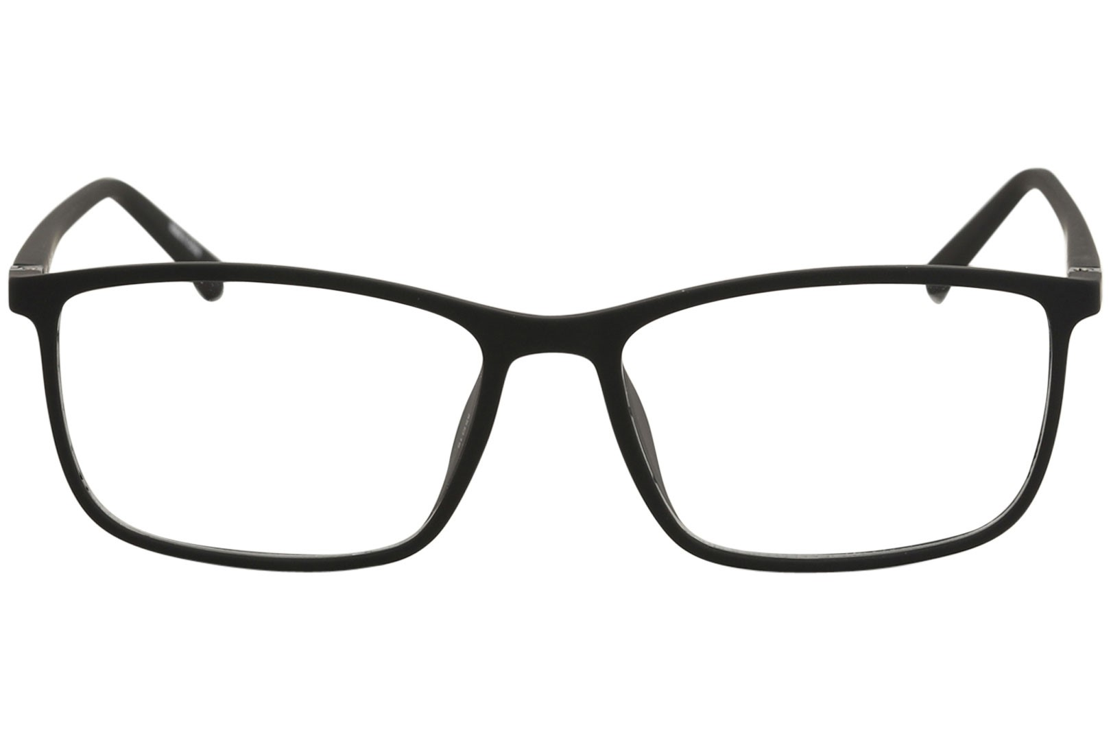 cd5717a52d police eyeglasses perception 6 vpl255 255 06aa black rubber optical frame  55mm - Walmart.com