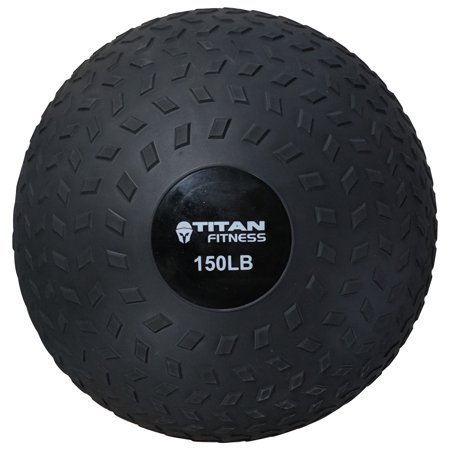 Titan 80 - 150 LB Slam Spike Ball Rubber Exercise Weight