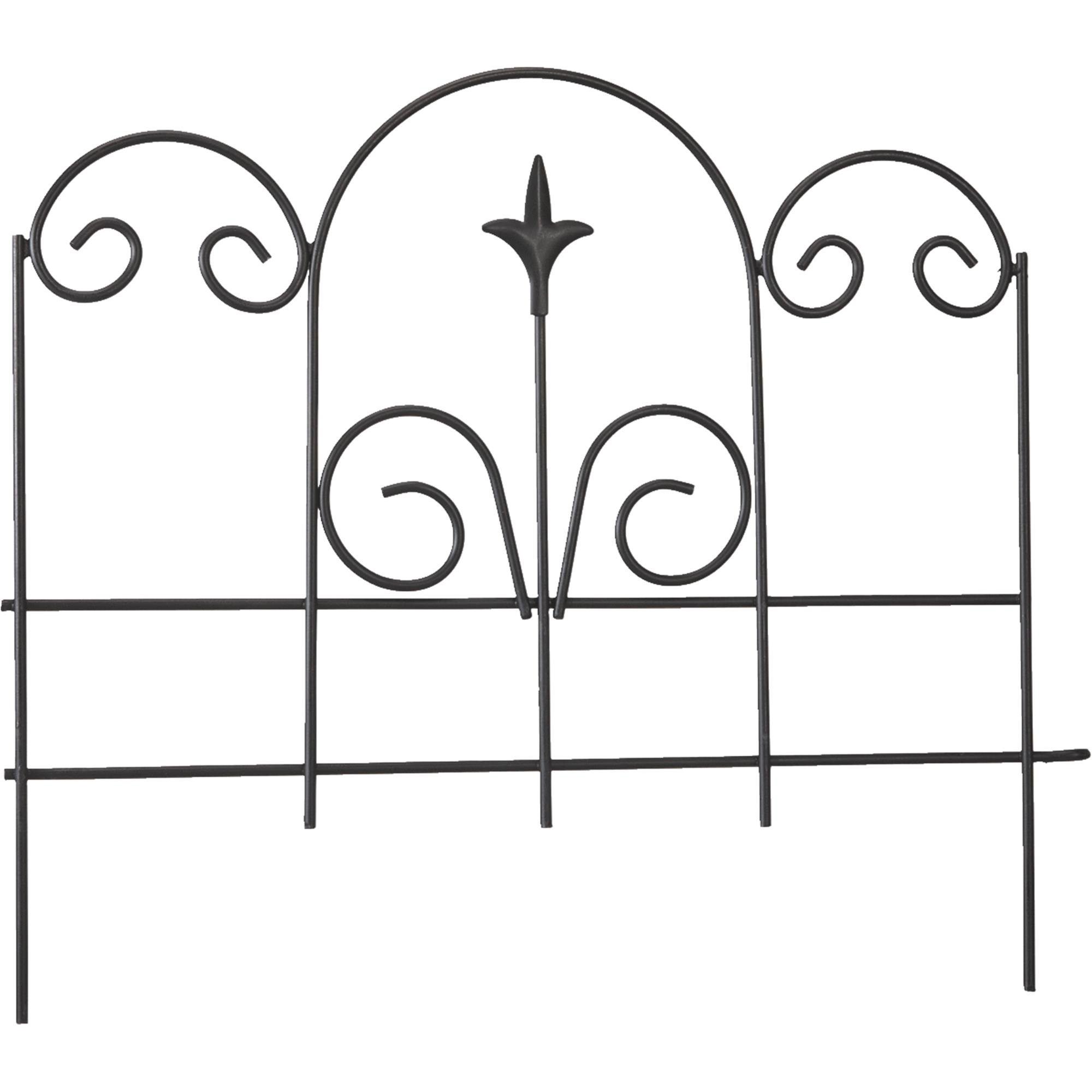 Panacea Decorative Border Fence by PANACEA PRODUCTS CORP-IMPORT