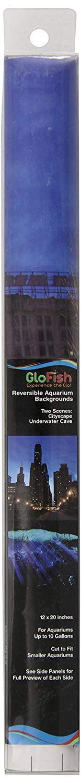 Aquarium Background GloFish Cave City by