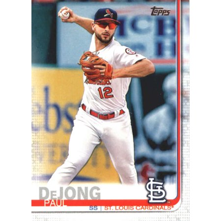 2019 Topps 125 Paul Dejong St Louis Cardinals Baseball Card Gotbaseballcards