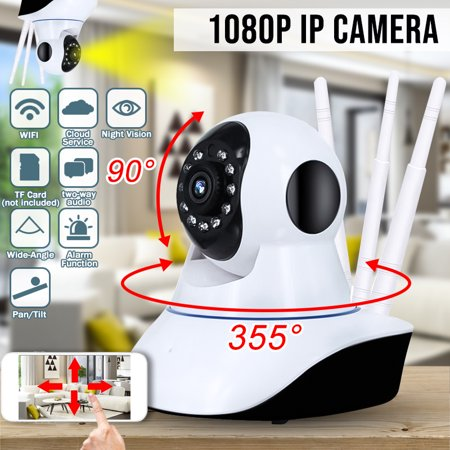DIGOO Outdoor Home 1080P Wireless ONVIF P2P Security IP Camera Security  Surveillance Baby Monitor with IR Cut Night ,Two-way Audio