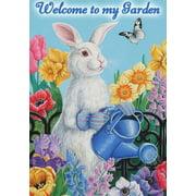 Garden Bunny Spring Garden Flag