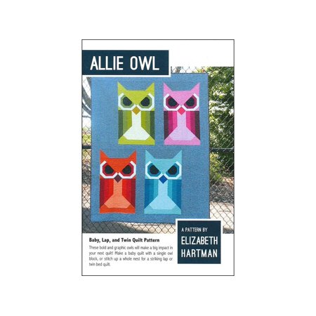 Make Your Own Diploma (Allie Owl Quilt Pattern by, Elizabeth Hartman Allie Owl Pattern- These bold and graphic owls will make a big impact in your next quilt! Make a baby quilt with a..,)