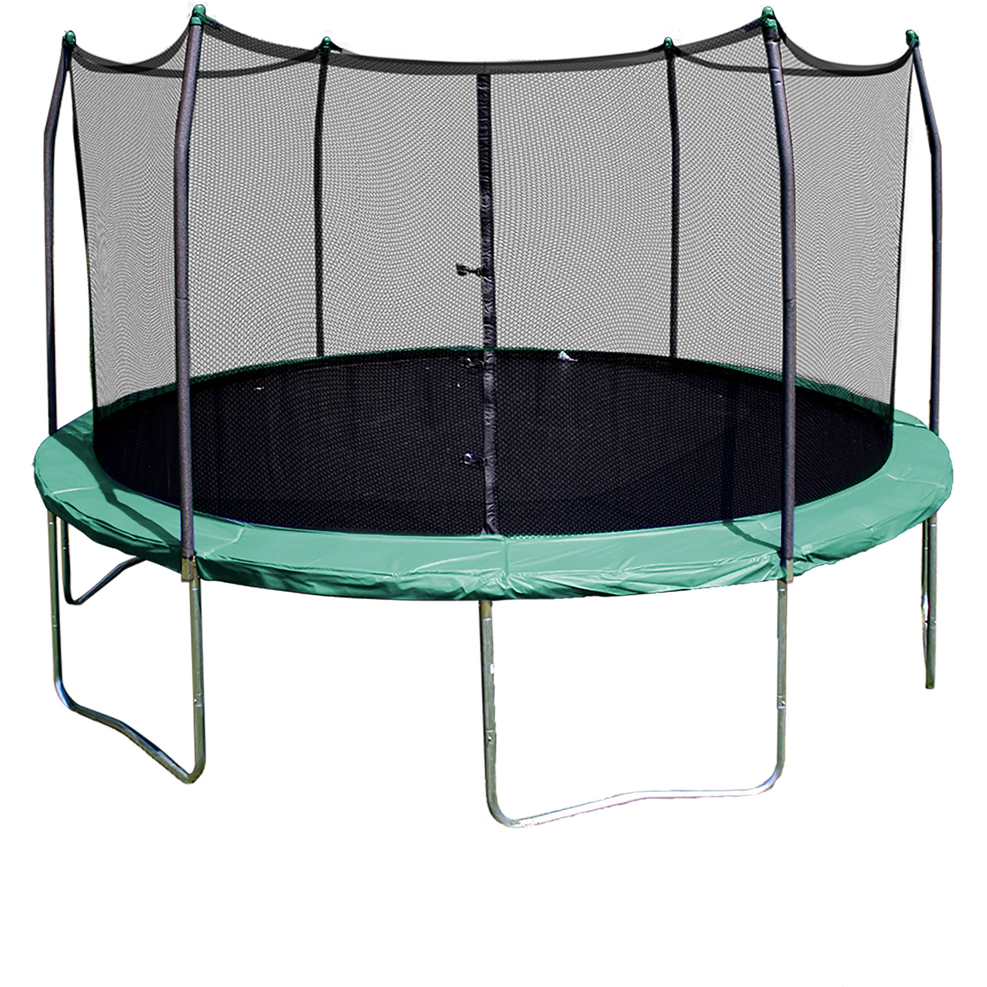Skywalker Trampolines 12' Round Trampoline with Enclosure - Green