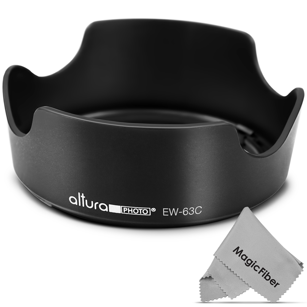 (Canon EW-63C Replacement) Altura Photo Lens Hood for Canon EF-S 18-55mm f/3.5-5.6 IS STM Lens
